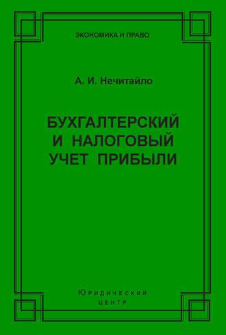 Алексей Нечитайло, Бухгалтерский и налоговый учет прибыли