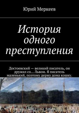 Юрий Меркеев, История одного преступления