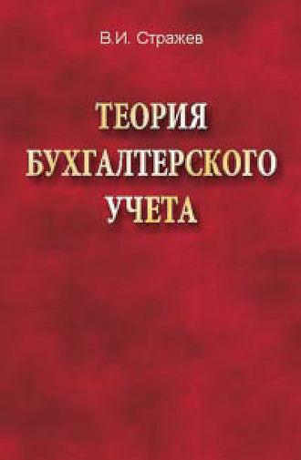 Виктор Стражев, Теория бухгалтерского учета