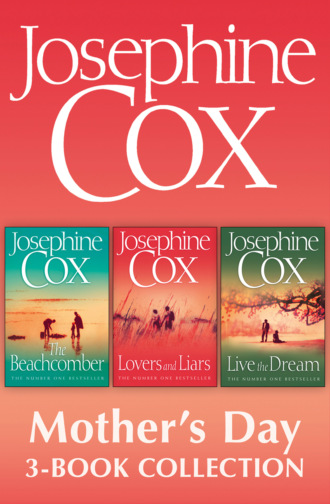 Josephine Cox Mother's Day 3-Book Collection: Live the Dream, Lovers and Liars, The Beachcomber
