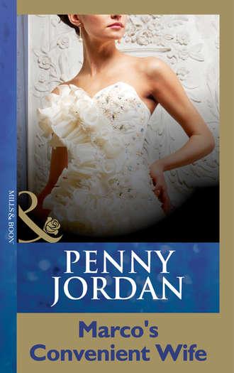 PENNY JORDAN, Marco's Convenient Wife