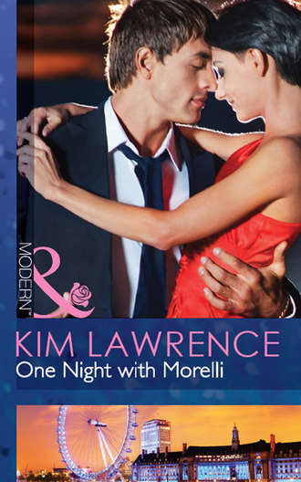KIM LAWRENCE, One Night with Morelli