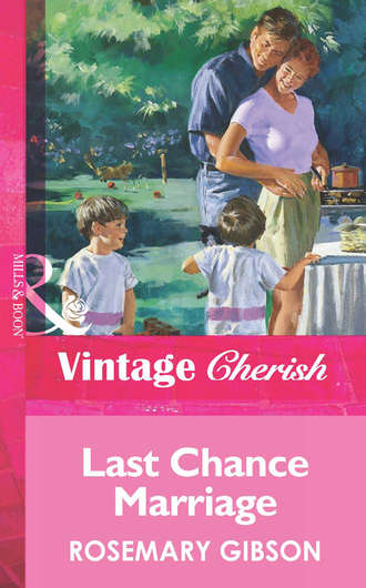 Rosemary Gibson, Last Chance Marriage
