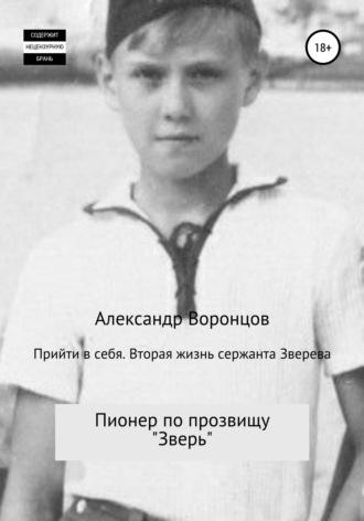 Александр Воронцов, Прийти в себя. Вторая жизнь сержанта Зверева