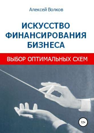 Алексей Волков, Искусство финансирования бизнеса: выбор оптимальных схем