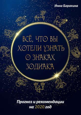 Инна Баракина, Все, что вы хотели узнать о знаках зодиака