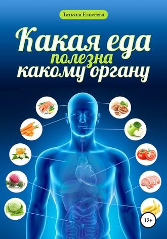 Татьяна Елисеева, Какая еда полезна какому органу