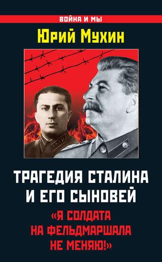 Юрий Мухин, Трагедия Сталина и его сыновей. «Я солдата на фельдмаршала не меняю!»